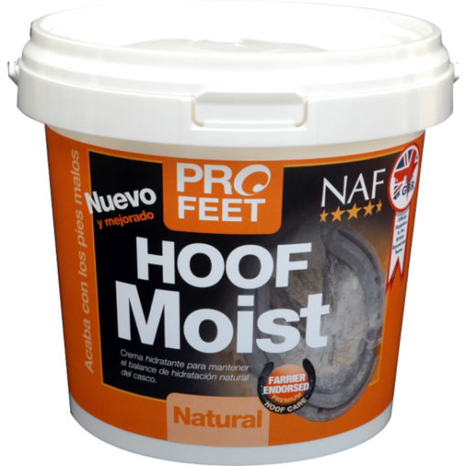 PRO FEET HOOF MOIST BLACK 500 GR - CREMA HIDRATANTE CASCOS