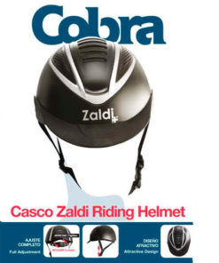 CASCO COBRA NEGRO