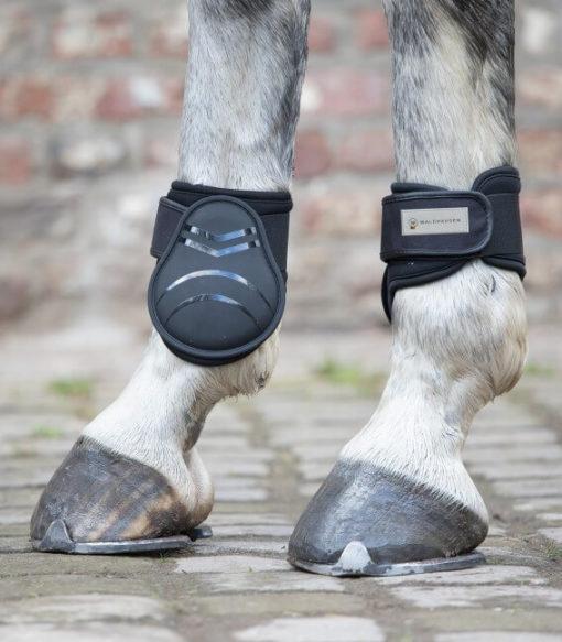 El Streichkappe convencido por la alta calidad y el material suave de fácil cuidado que la pierna del caballo con seguridad ...