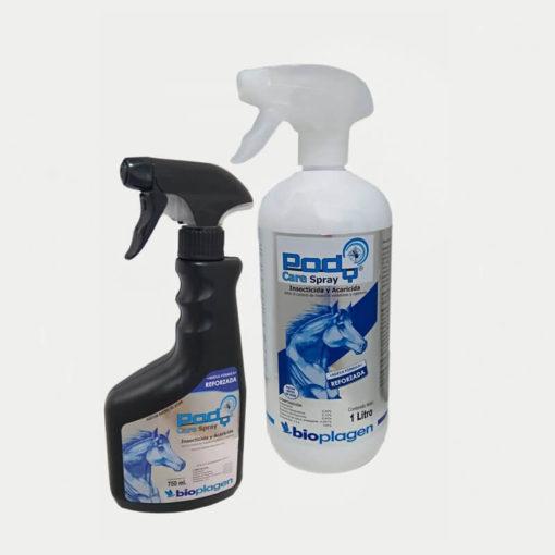 PODY® CARE SPRAY CABALLOS es un insecticida que actúa por contacto e ingestión, eliminando de forma eficaz toda clase de insectos voladores (moscas, mosquitos, avispas, moscardas, etc.)